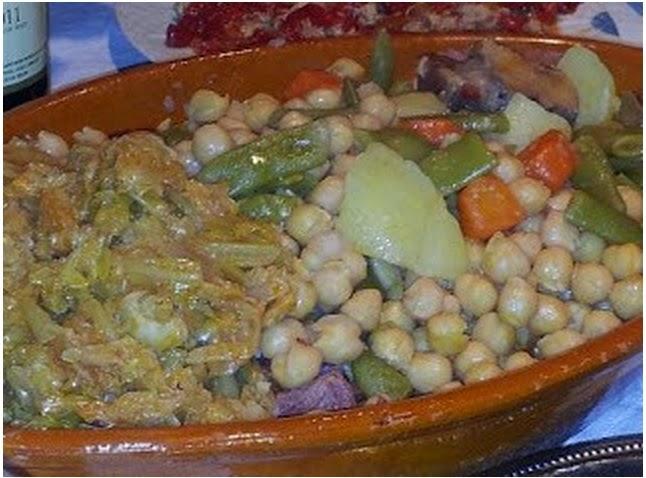 Cocido madrile o de 3 vuelcos gastronomia y una pizca - Cocido en la olla express ...